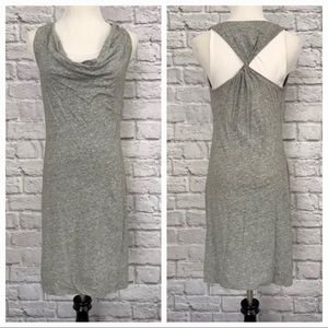 BANANA REPUBLIC Layered Cowl Neck Tank Dress 00762